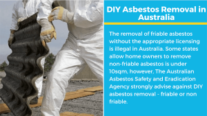 diy asbestos removal australia regulations