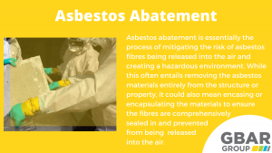 asbestos abatement explained