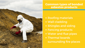 common types of bonded asbestos