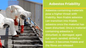 asbestos friability chart