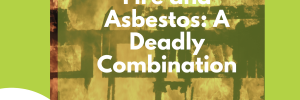 Fire and Asbestos: A Deadly Combination Cover Image