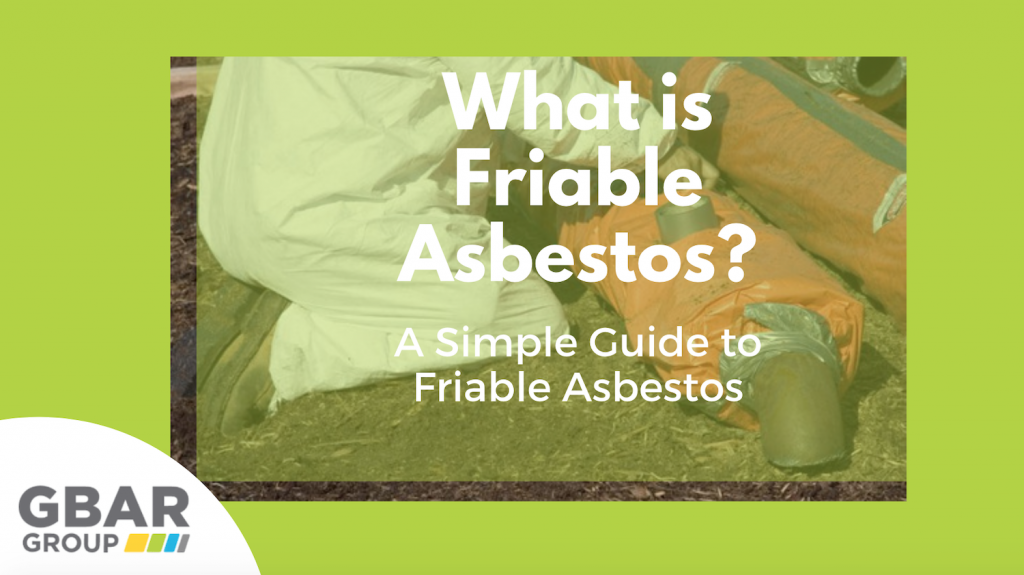 What is Friable Asbestos Cover Image