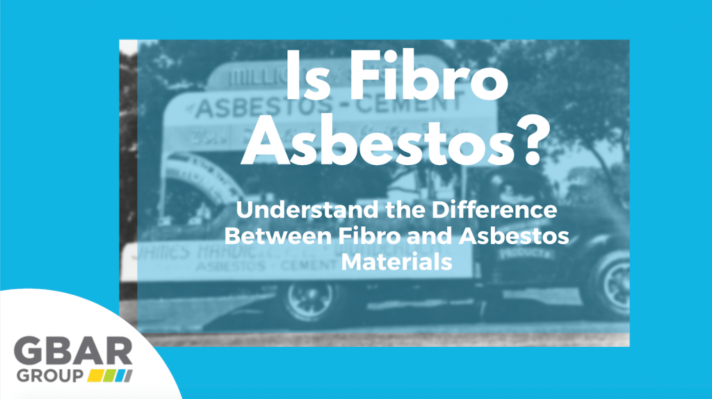 Is Fibro Asbestos? Cover Image for article about the difference between fibro and asbestos