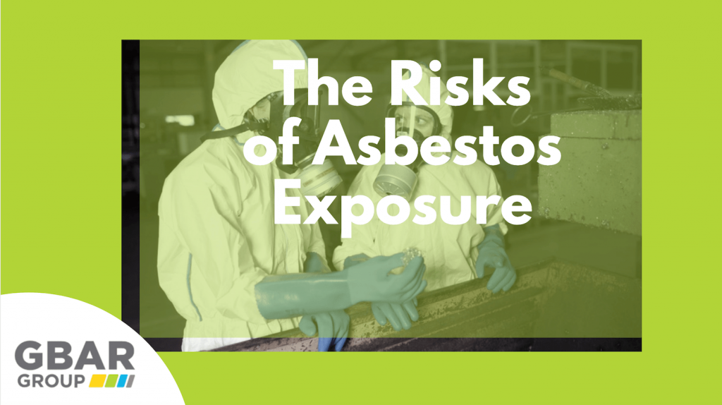 risks of asbestos exposure - cover image