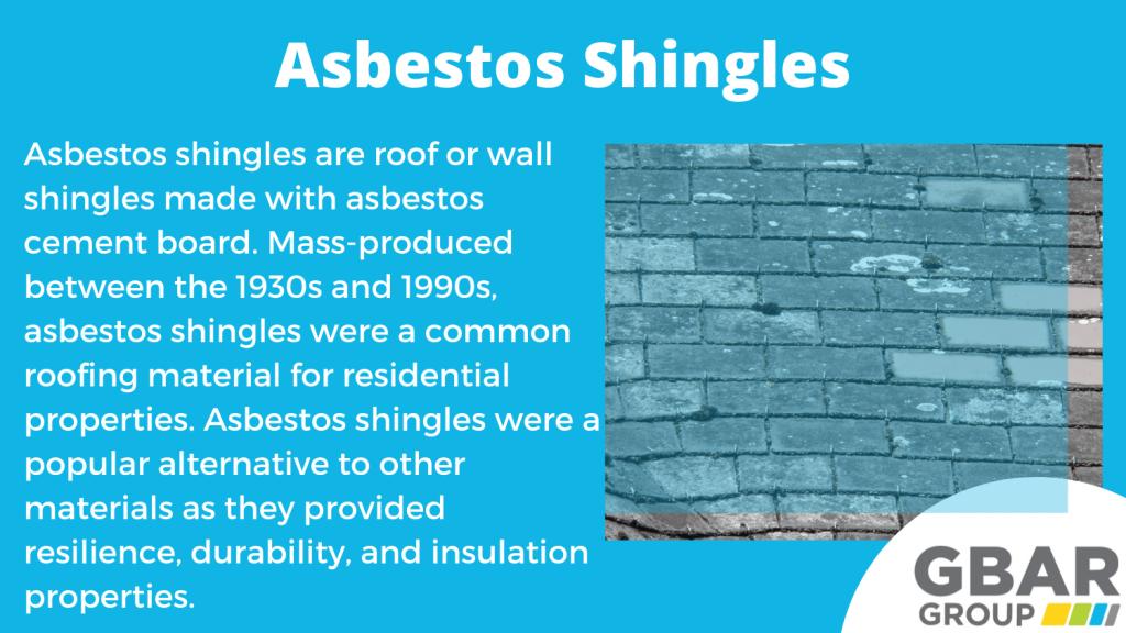 the history of asbestos shingles in Australia