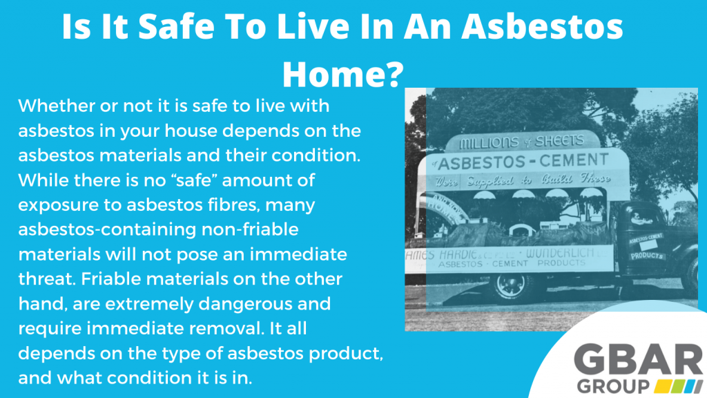 Reasons why it is not sage to live in an asbestos house