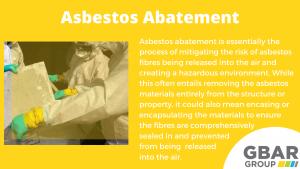 asbestos abatement explained
