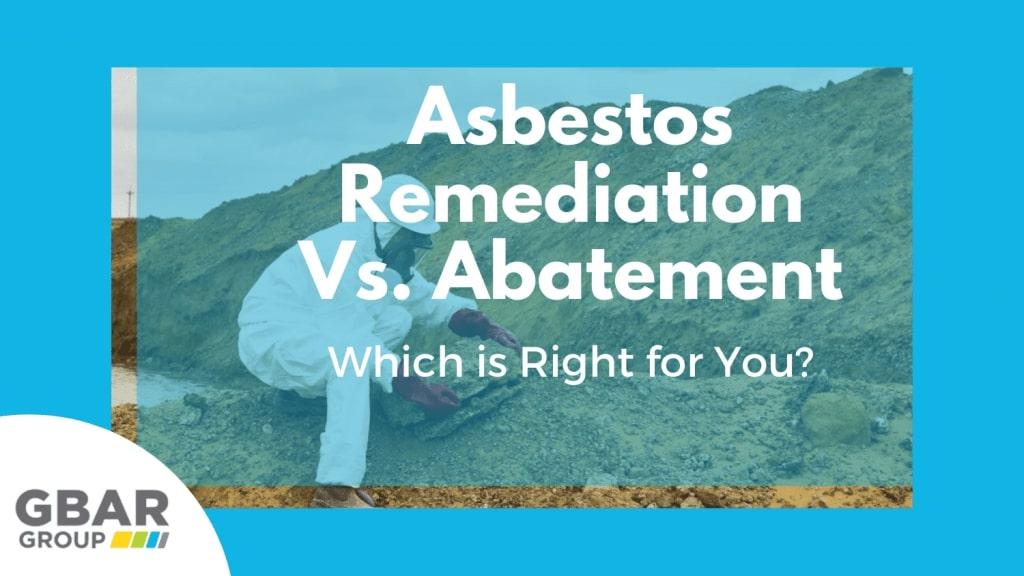 asbestos remediation vs abatement cover image