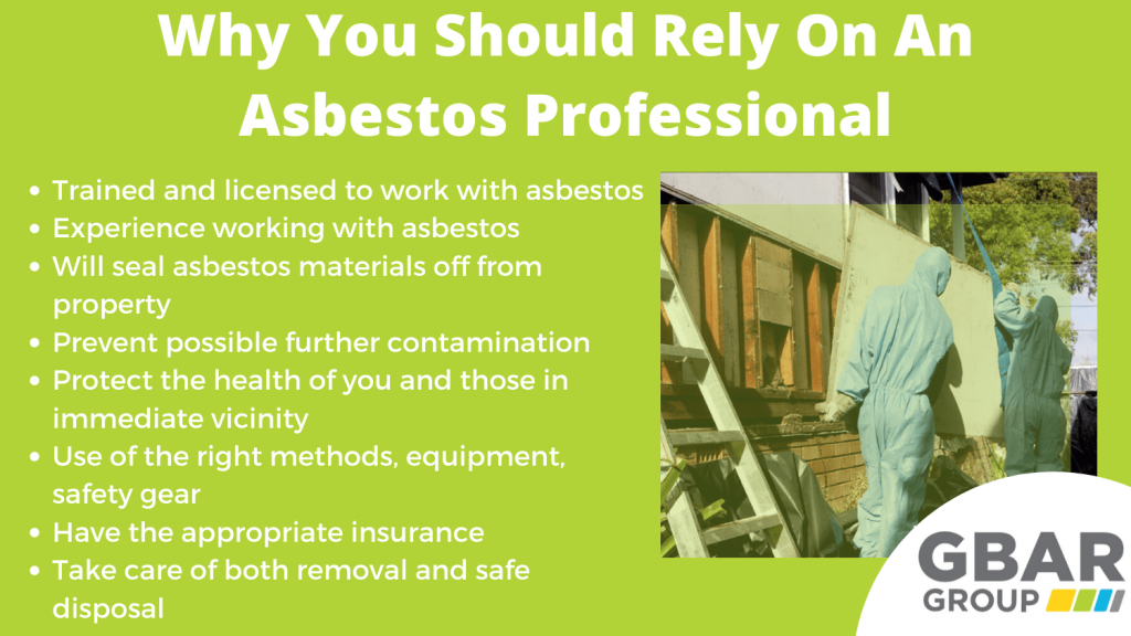 why you should seek professional asbestos removal